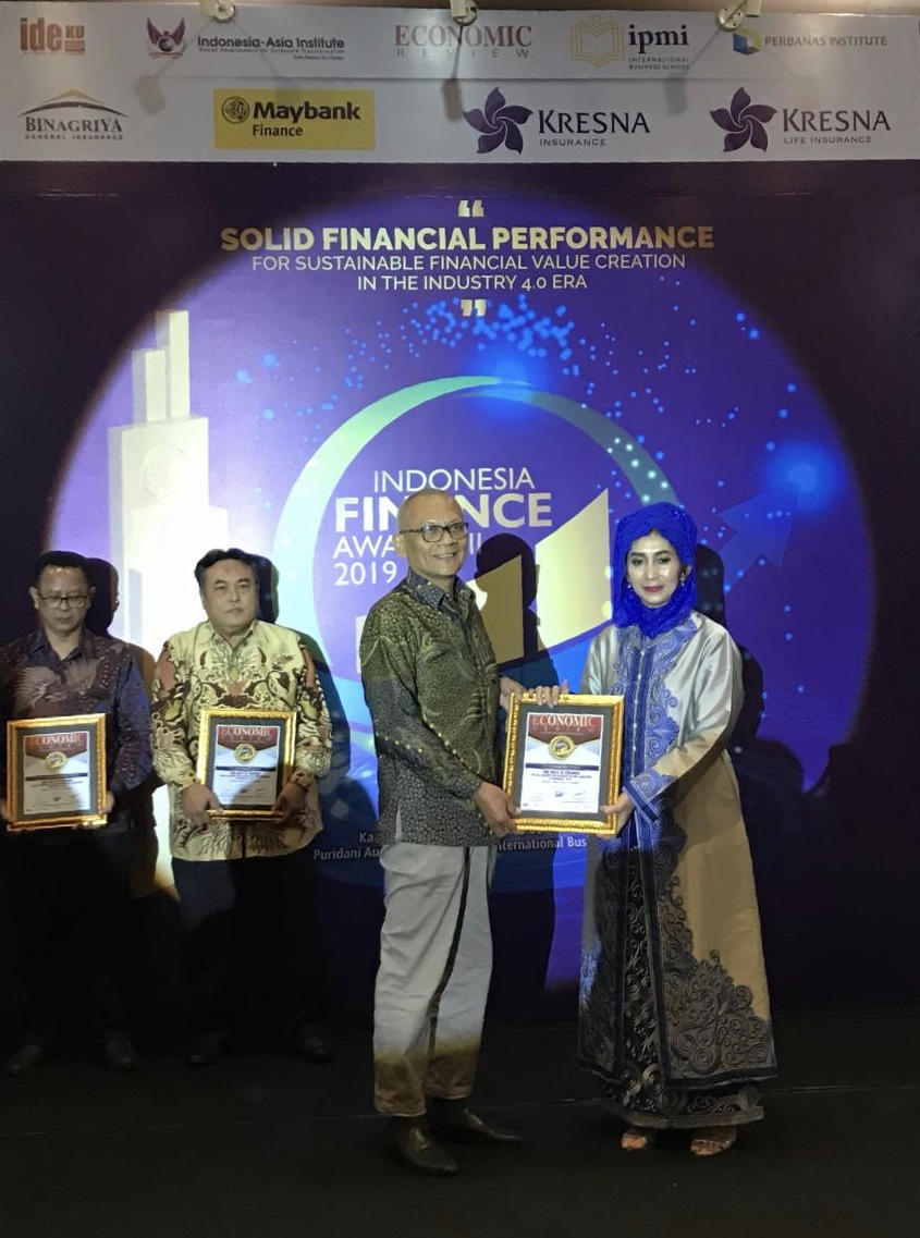 Taspen Life Raih Penghargaan Indonesia Finance Award 2019