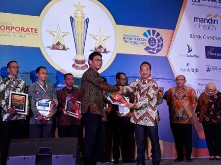 Taspen Life Sukses Raih Penghargaan Dalam Ajang ICCA dan IITA 2018