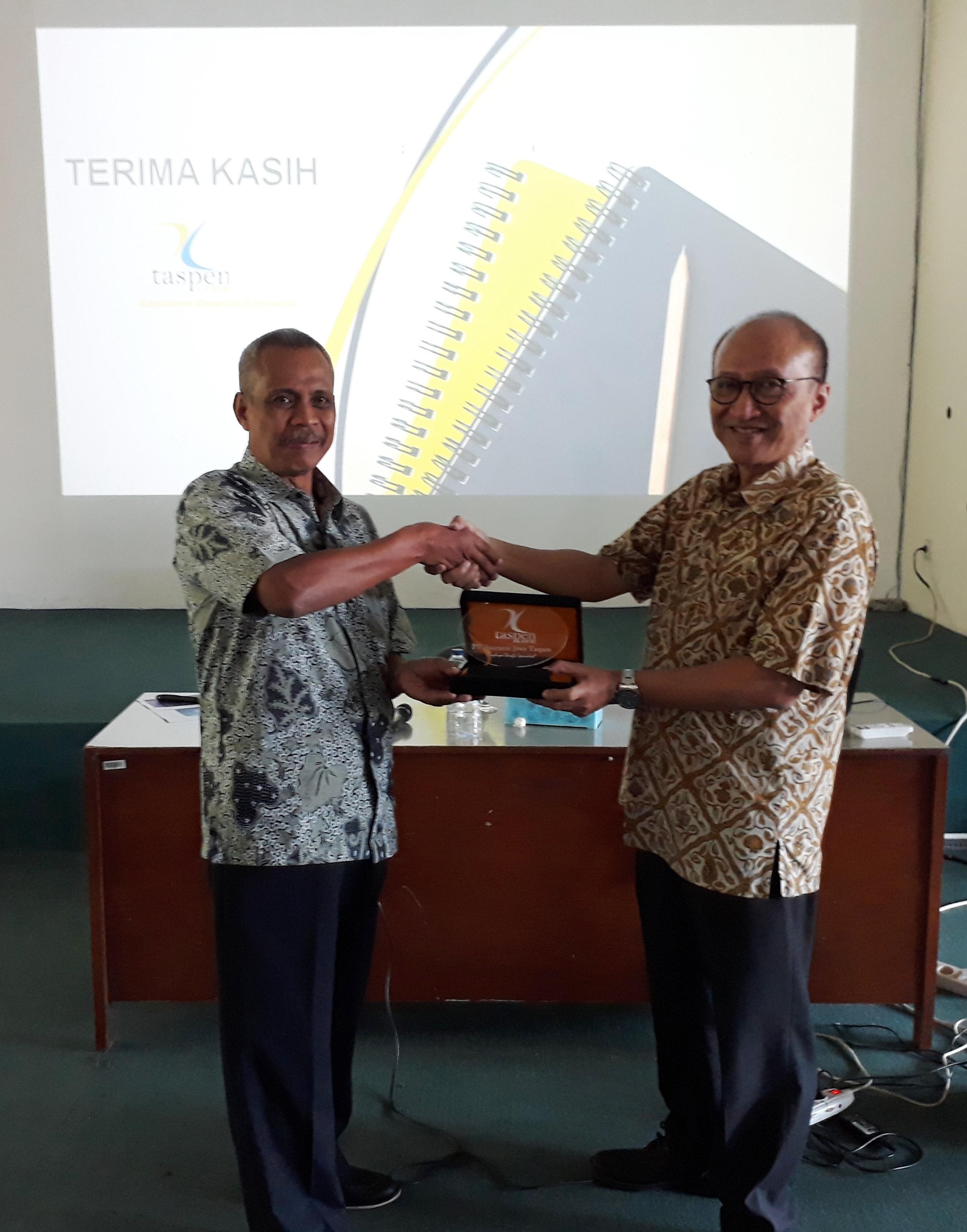 CEO Taspen Life Berikan Literasi Profesi Aktuaris Bagi Mahasiswa FMIPA UNPAD