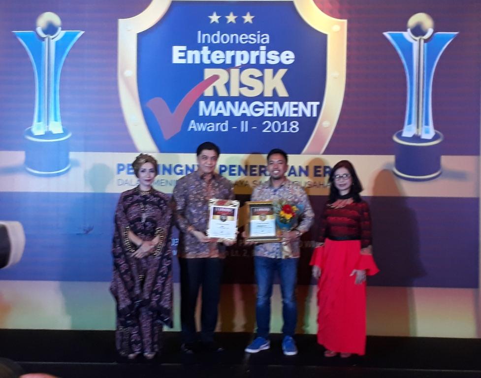 Penghargaan IERMA-II-2018 bagi Taspen Life