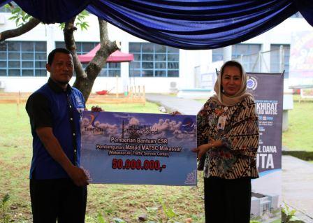 Corporate Social Responsibility Taspen Life di Makassar