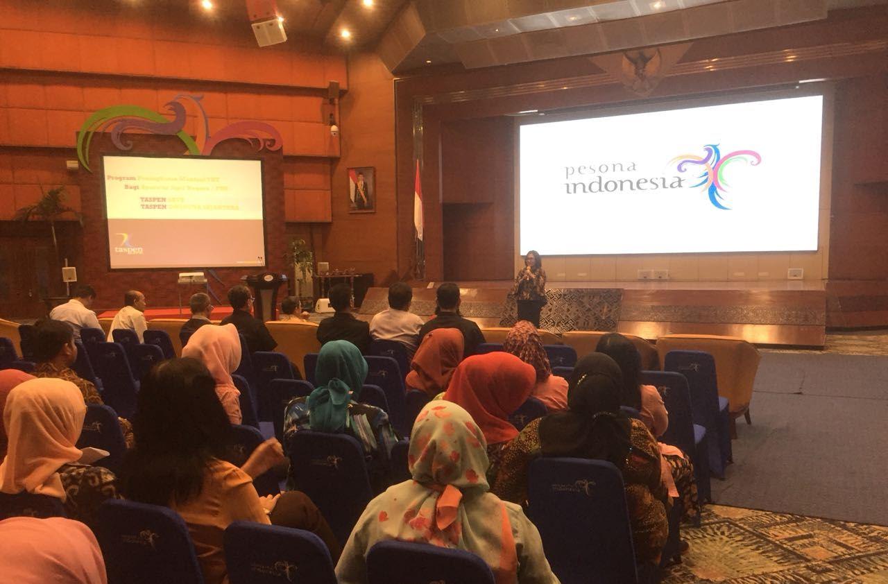 Sosialisasi Produk Taspen Life di Hadapan Perwakilan KORPRI Seluruh Indonesia