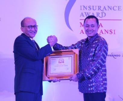 Taspen Life Raih Best Life Insurance 2018