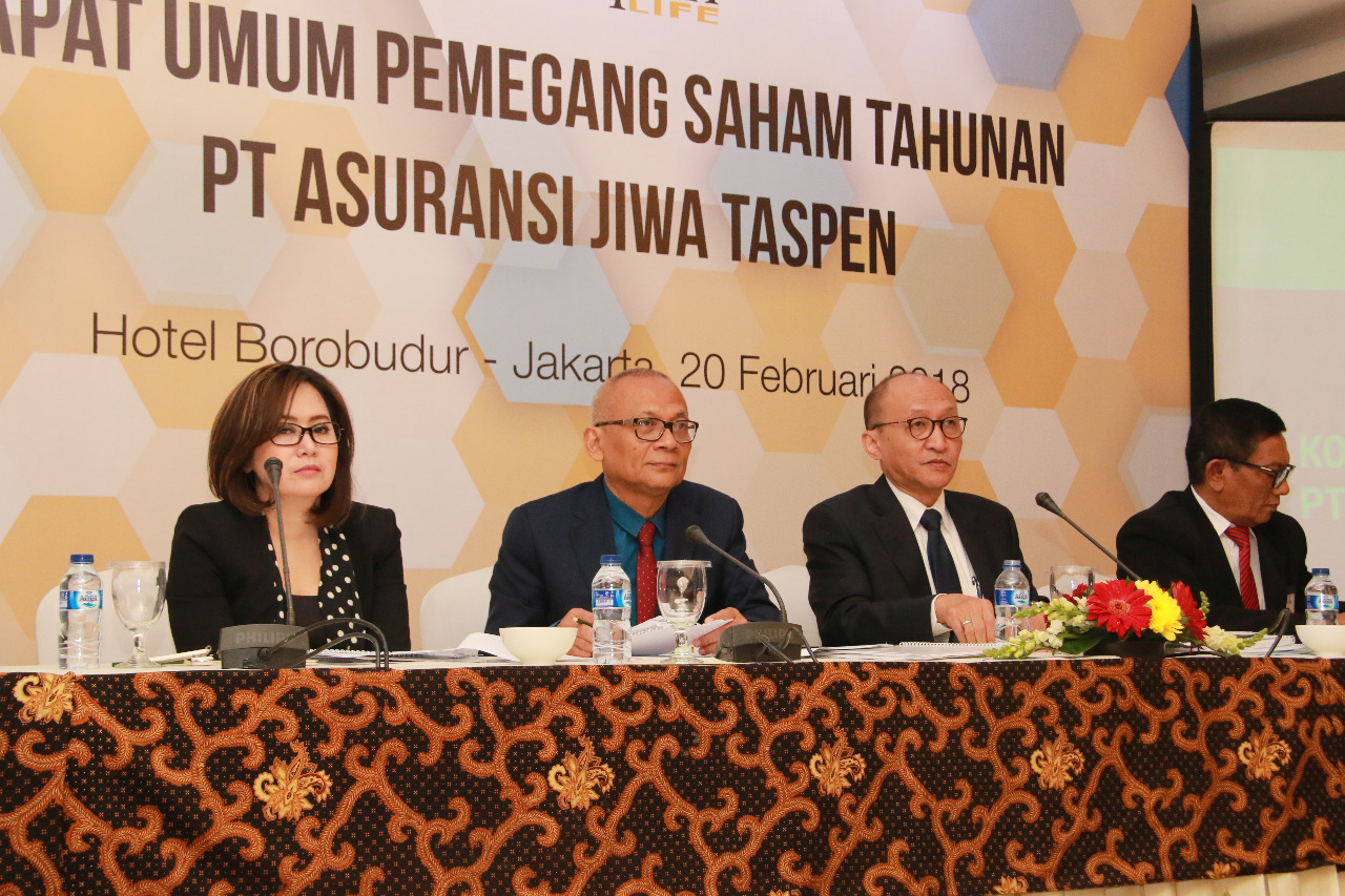 Sepanjang 2017, Taspen Life Bukukan Premi Hampir Rp500 Miliar