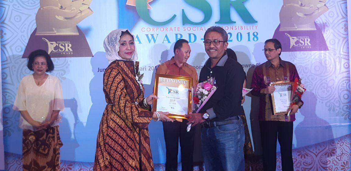 Taspen Life Mendapatkan Penghargaan Indonesia CSR Award