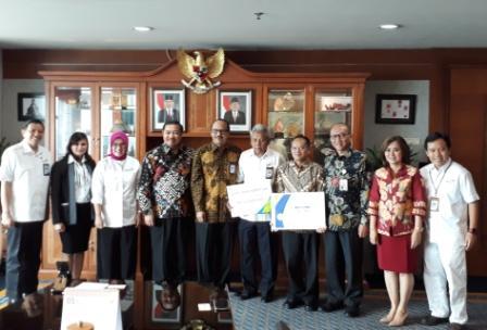 Penyerahan Manfaat dan Santunan Program Top Up THT untuk ASN Kementerian Pariwisata