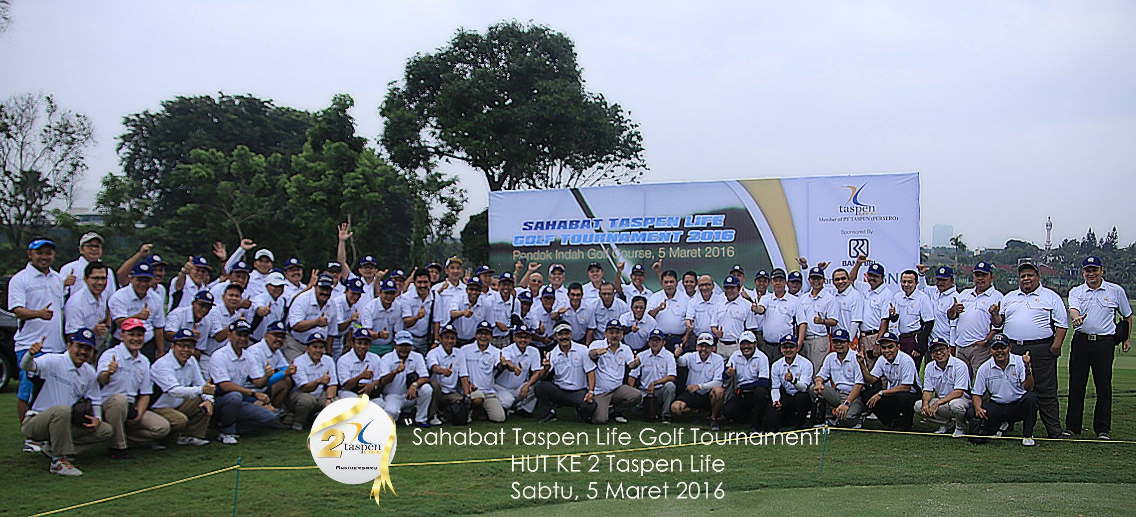SAHABAT TASPEN LIFE GOLF TOURNAMENT HUT TASPEN LIFE KE 2