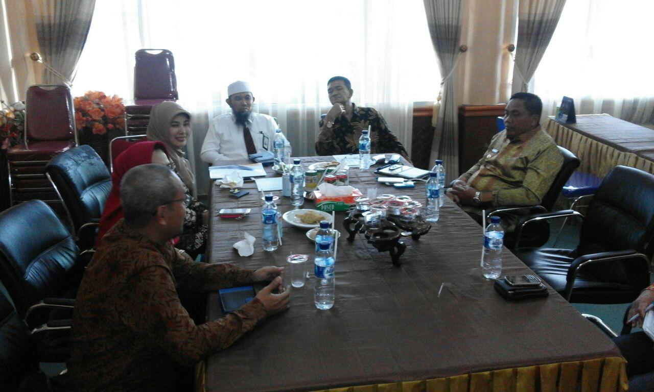 Penandatanganan Kerja Sama Program Top Up Manfaat THT dengan Pemerintah Kabupaten Aceh Singkil