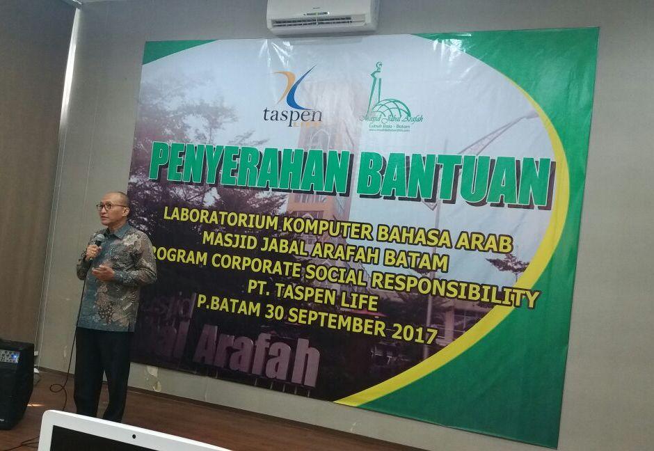Pelaksanaan Corporate Social Responsibility Taspen Life di Batam