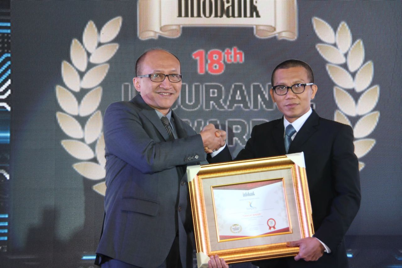 Taspen Life Berpredikat  SANGAT BAGUS Pada Infobank Insurance Awards 2017