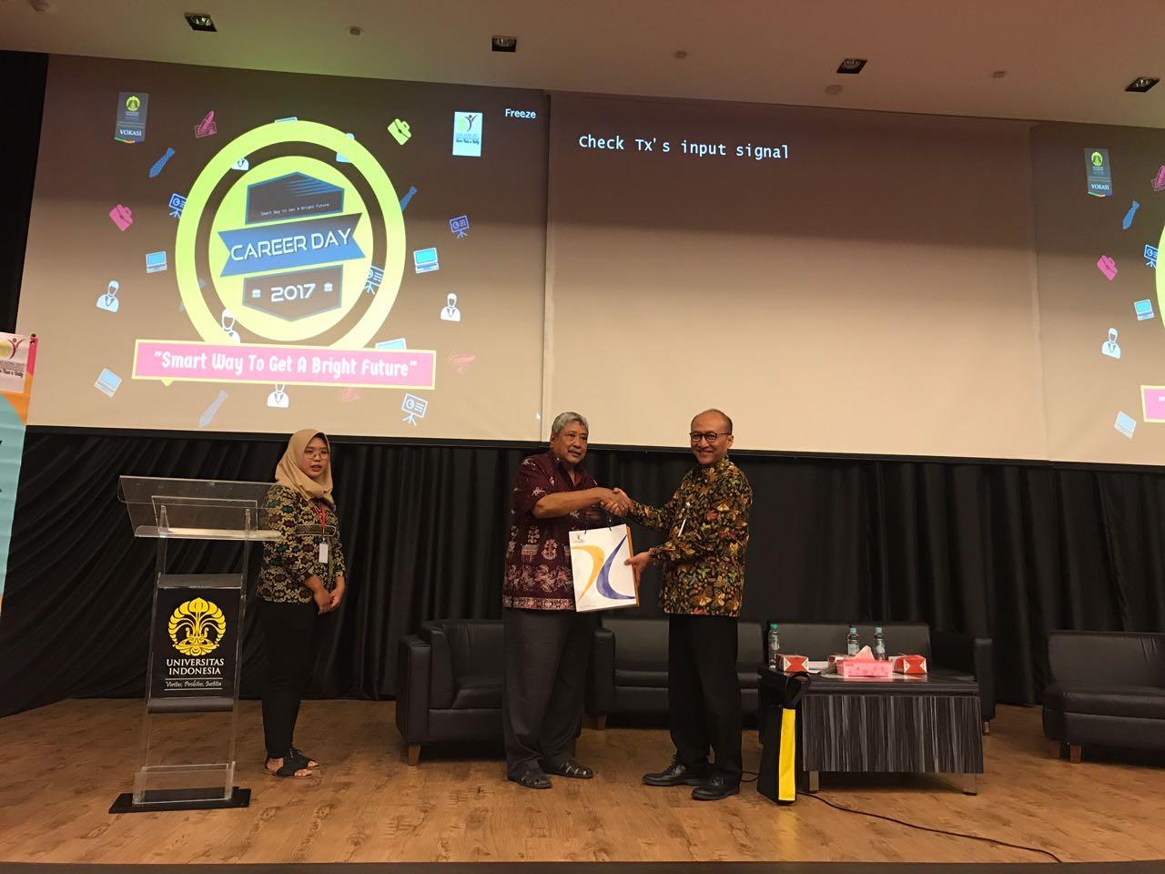 CEO Taspen Life Berikan Literasi Bagi Mahasiwa Program Vokasi Universitas Indonesia