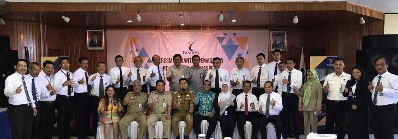 Peresmian Kantor Pemasaran Taspen Life Makassar
