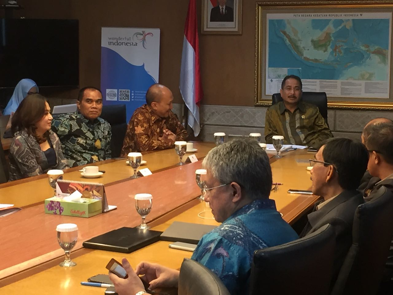 Pemaparan PKS dengan Kementerian Pariwisata