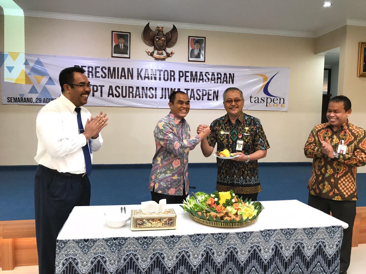 Taspen Life Resmi Buka Kantor Pemasaran di Semarang