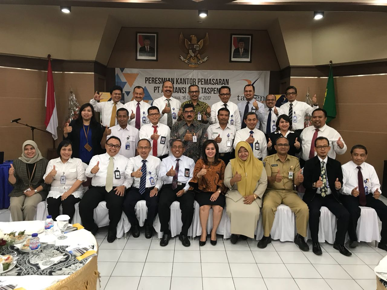 Perluas Pangsa Pasar, Taspen Life Buka Kantor Pemasaran di Surabaya