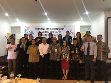 Taspen Life Buka Kantor Pemasaran Palembang