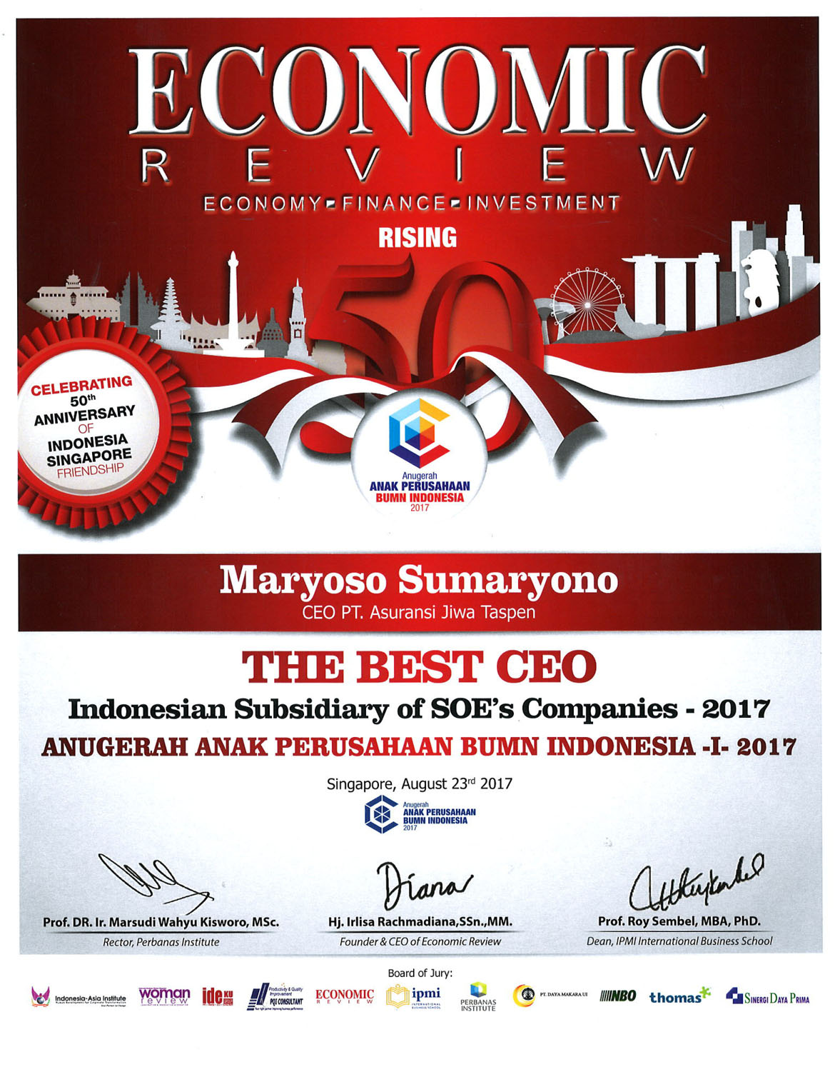 The Best CEO AAPBUMNI 2017