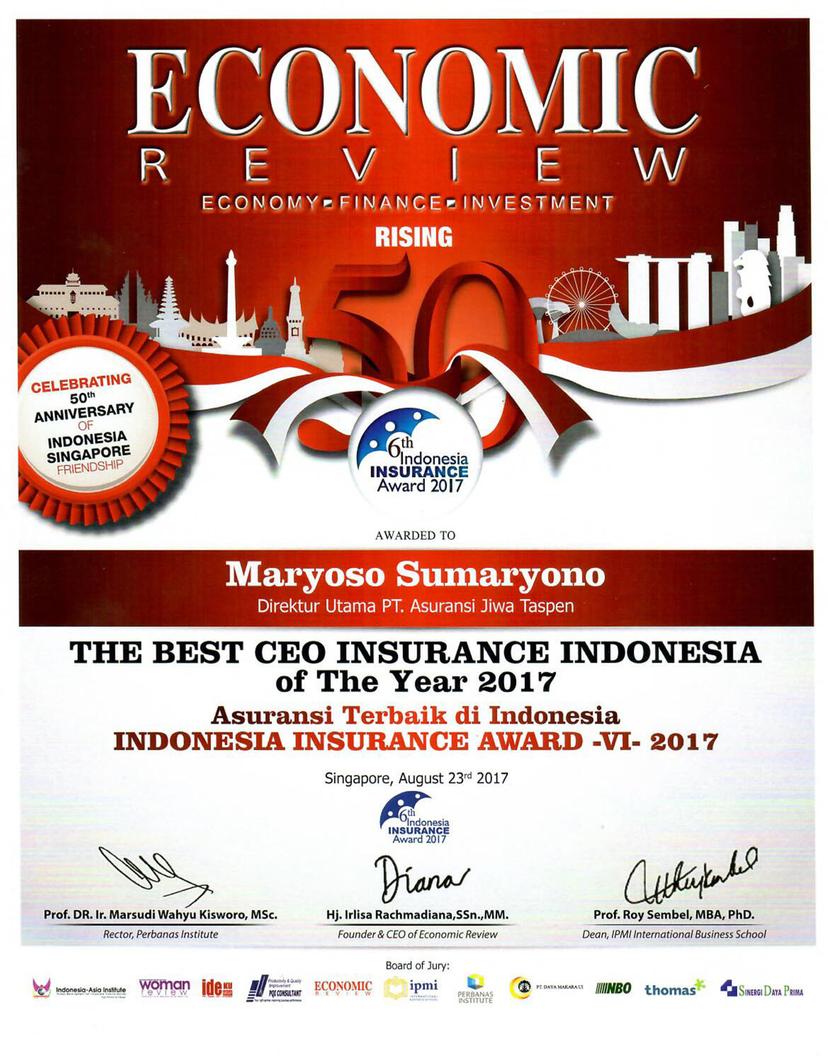 The Best CEO IIA 2017