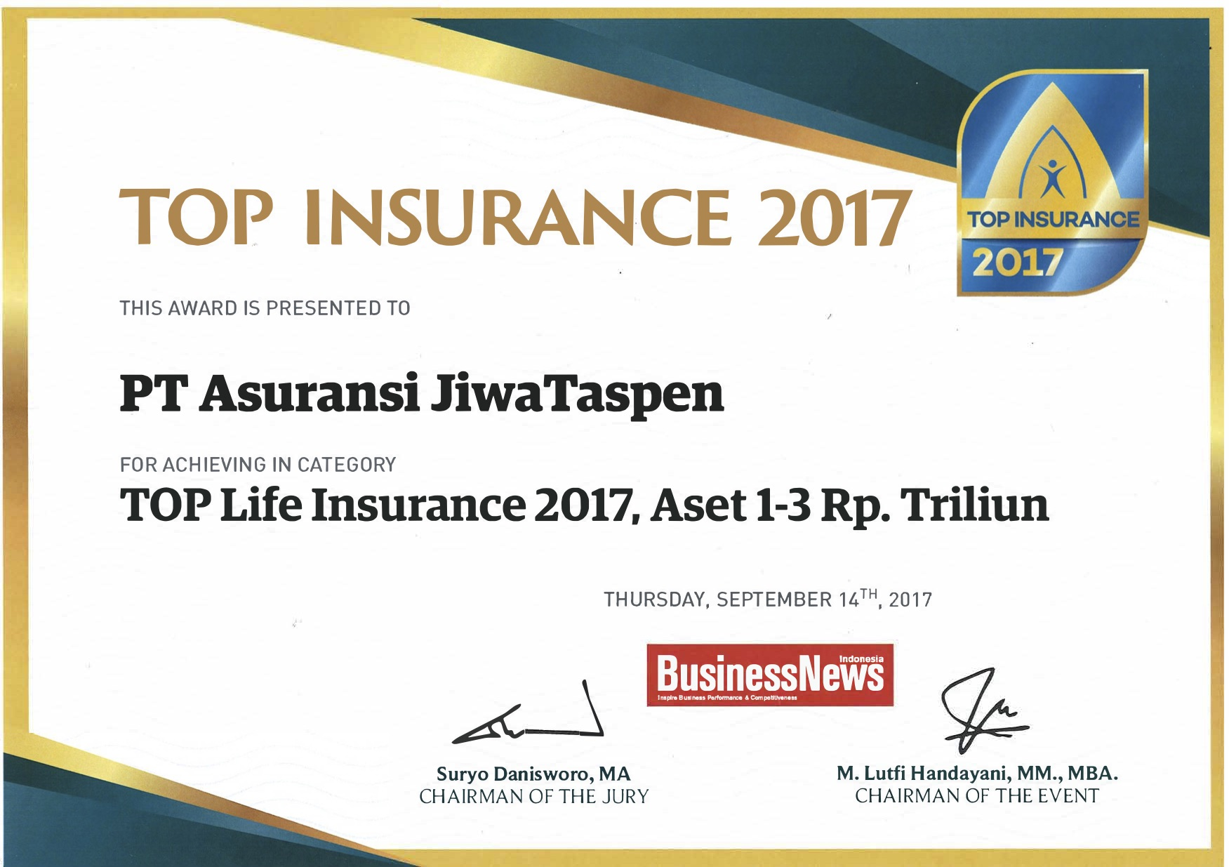 Top Life Insurance 2017