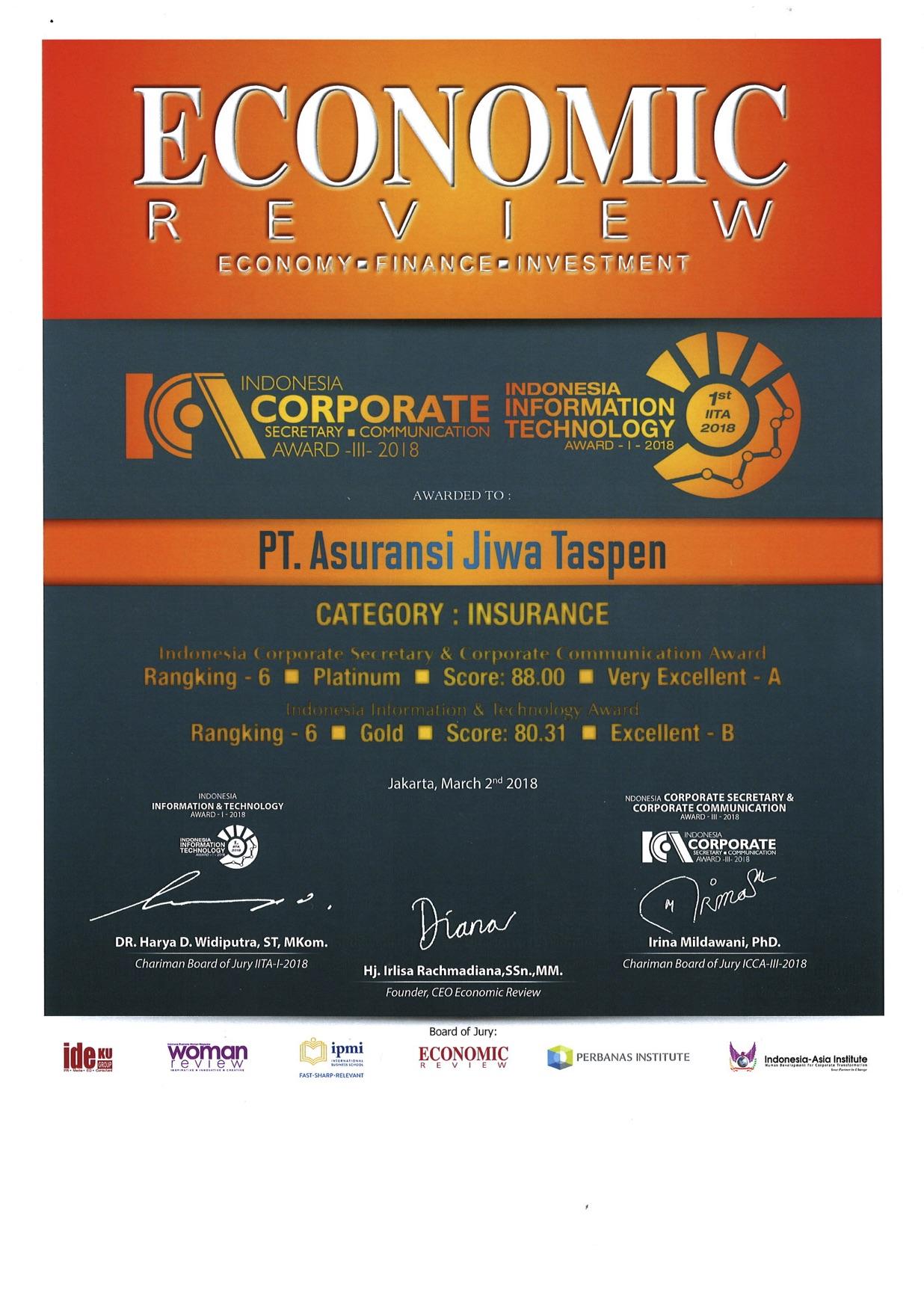ICA ITA - Economic Review