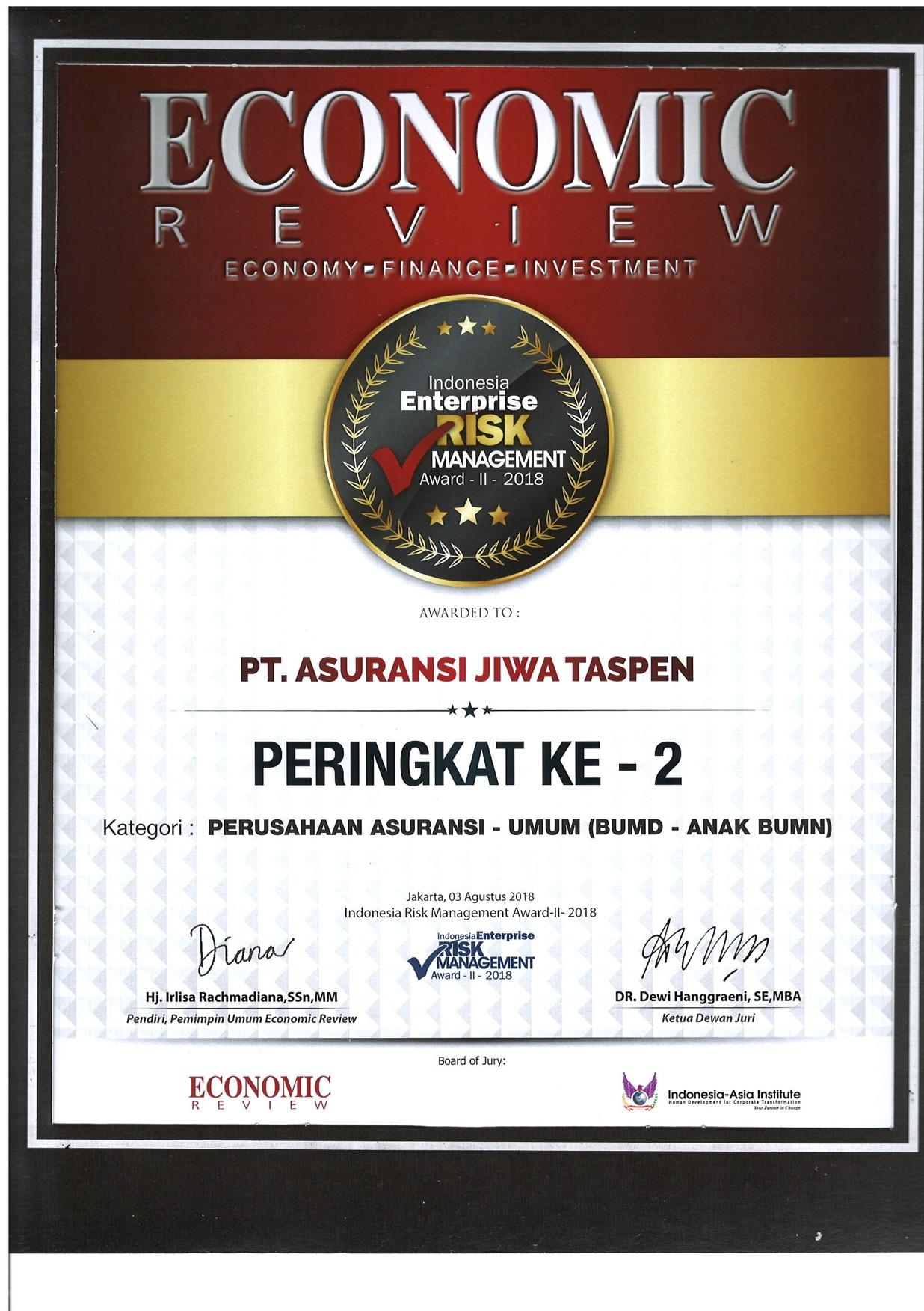 IERMA Ranking - Economic Review